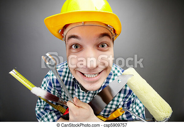 handyman, 幸せ - csp5909757