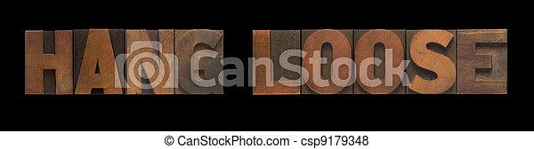 hang loose - csp9179348