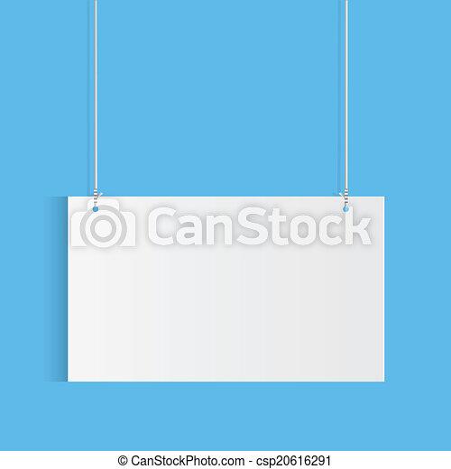 hangend teken - csp20616291
