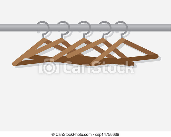 Hangers On Rod  - csp14758689