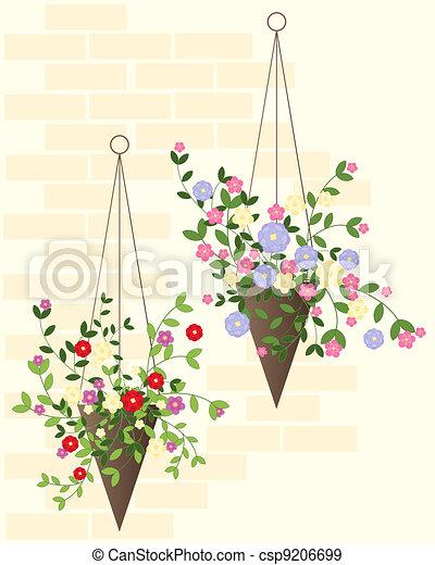 hanging basket - csp9206699