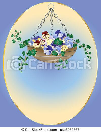 hanging basket - csp5052867