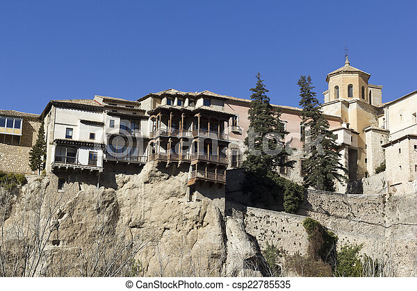 Hanging Houses, Cuenca, Spain   Csp22785535
