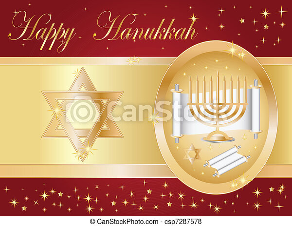 hanukkah - csp7287578
