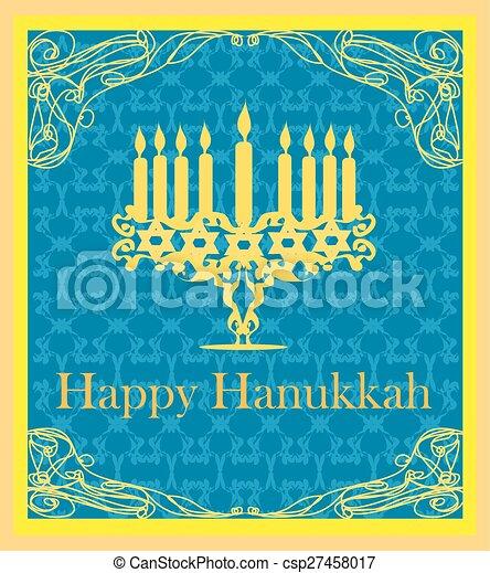 Hanukkah greeting card m4hsunfo