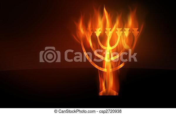 Hanukkah - csp2720938