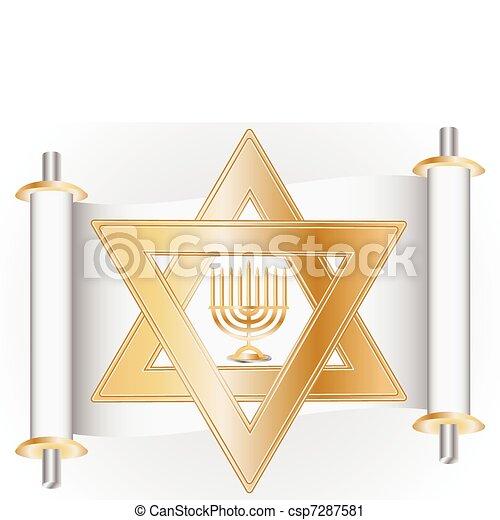 hanukkah - csp7287581