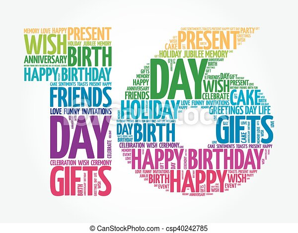 16th Illustrations And Clip Art 462 16th Royalty Free Happy Sixteenth Birthday Wishes