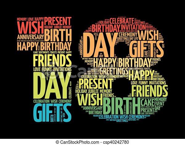 Happy Birthday 18 Jaar
