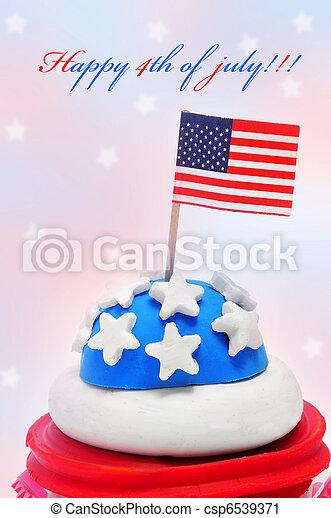 Happy 4th of july - csp6539371