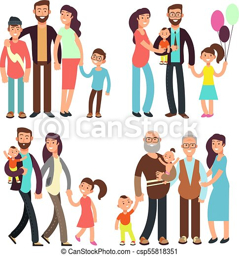 stock-vector-set-of-diverse-business-people-isolated-on-white-background-different-nationalities-and-dress-2812407…    Cartoon people, Cartoon styles, Simple cartoon