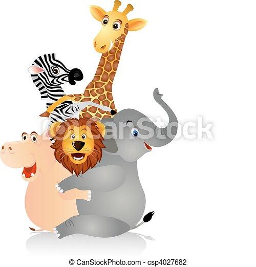 Happy animal - csp4027682