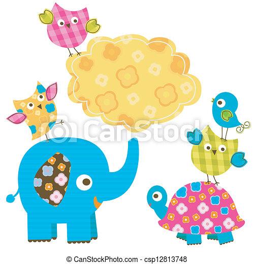 happy animals - csp12813748