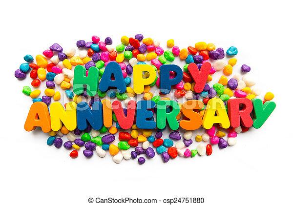 happy anniversary - csp24751880