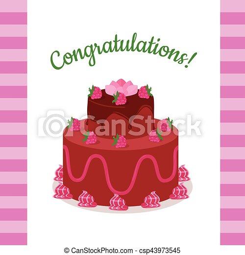 Happy Anniversary Strawberry Pie Multi Level