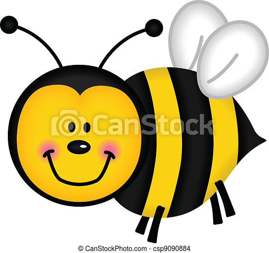 Happy Bee - csp9090884