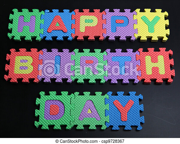 Happy Birth Day! - csp9728367