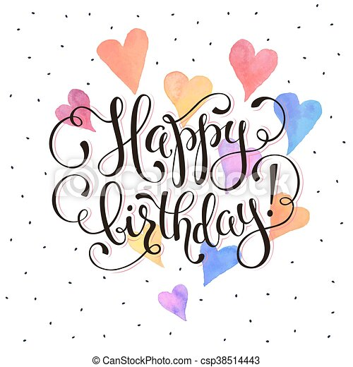 happy birthday card happy birthday greeting card eps vector rh canstockphoto com christmas greeting card clipart greeting card clipart free