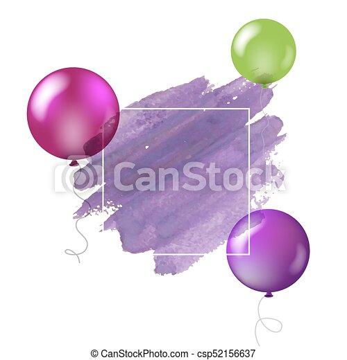 Happy Birthday Card - csp52156637