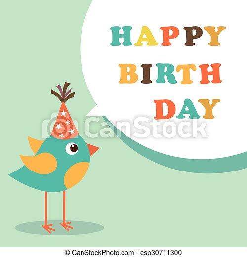 Happy birthday card - csp30711300
