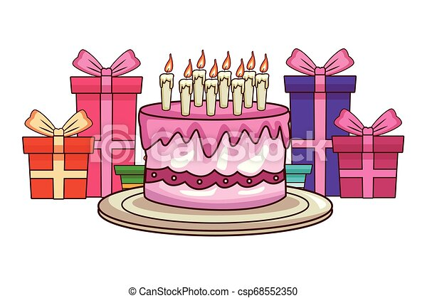 Sensational Happy Birthday Cartoons Happy Birthday Cake With Tboxes Funny Birthday Cards Online Alyptdamsfinfo