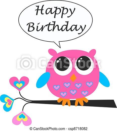 happy birthday - csp8718082