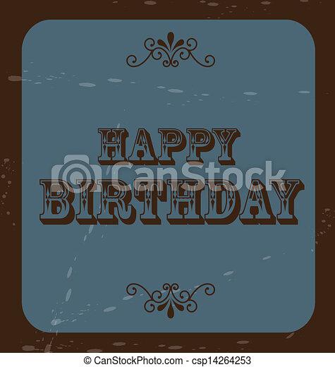 happy birthday  - csp14264253