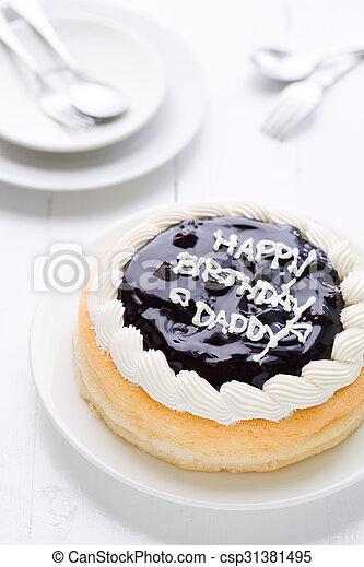 Happy Birthday Daddy Cake Background Happy Birthday Daddy Cake
