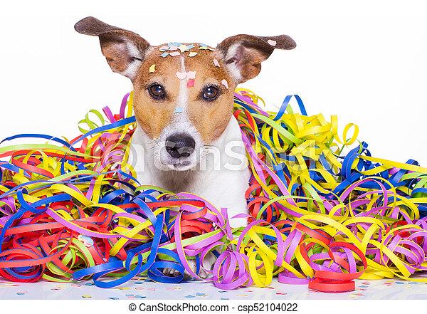 Happy Birthday Dog Celeberation