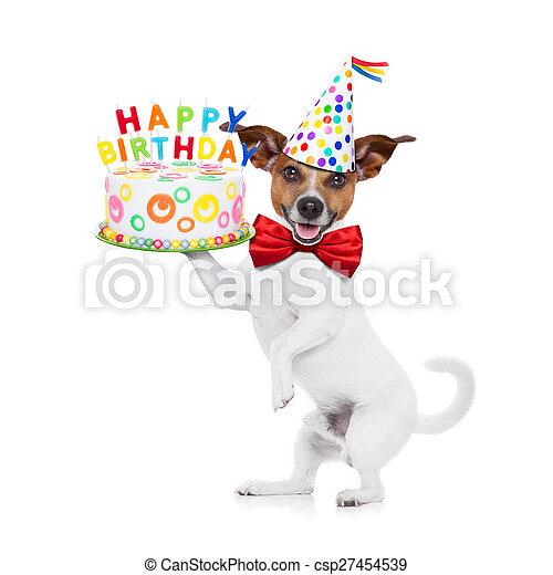 Brilliant Happy Birthday Dog Jack Russell Dog Holding A Happy Birthday Cake Funny Birthday Cards Online Unhofree Goldxyz