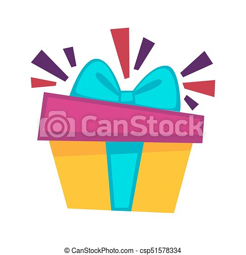 happy birthday gift box vector design template for greeting rh canstockphoto com gift box vector free download gift box vector art