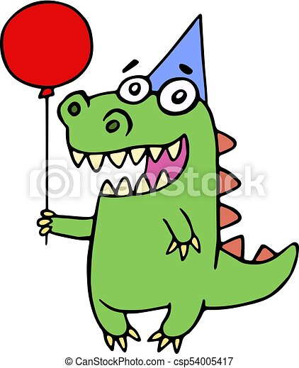 happy birthday greeting dragon vector illustration cute vector rh canstockphoto com greeting clipart black and white birthday greeting clipart