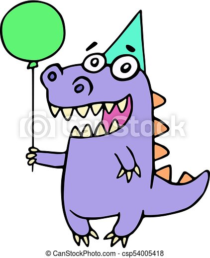 happy birthday greeting purple dragon vector illustration rh canstockphoto ie christmas greeting clipart greeting clipart black and white