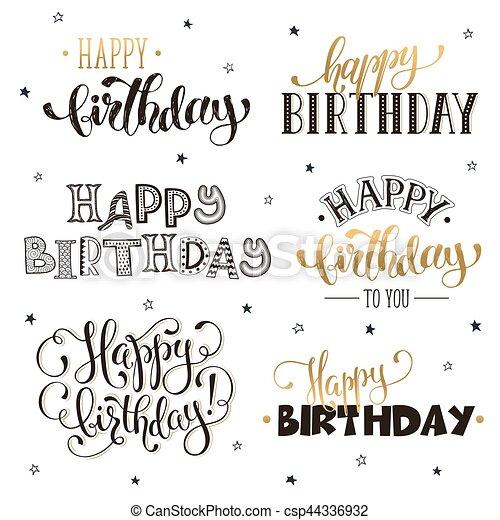 birthday phrases Happy birthday phrases. Hand written happy birthday phrases in  birthday phrases