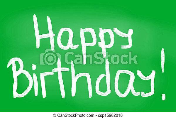 HAPPY BIRTHDAY! - csp15982018