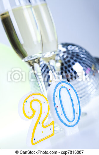 Happy birthday - csp7816887