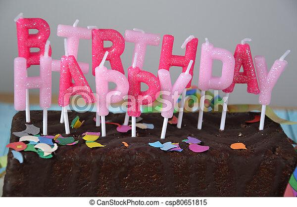 Happy Birthday - csp80651815