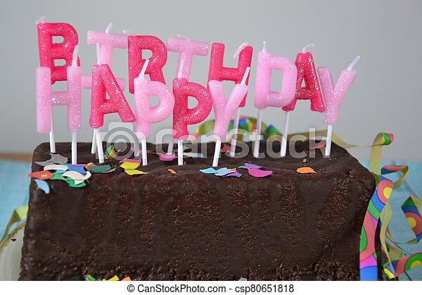 Happy Birthday - csp80651818