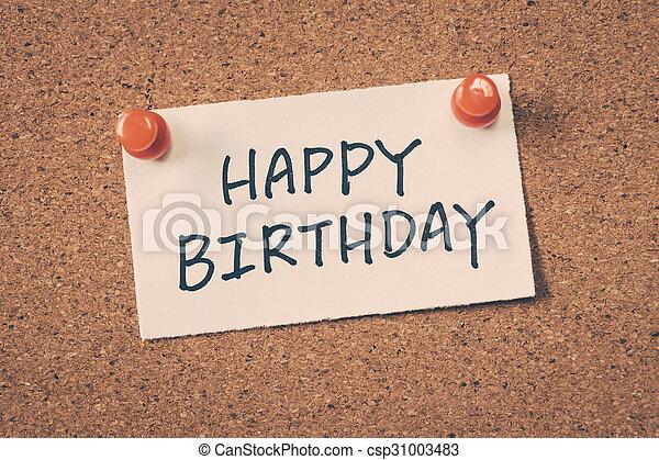 happy birthday - csp31003483