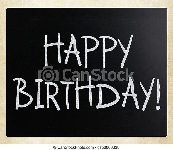 Happy Birthday! - csp8860338