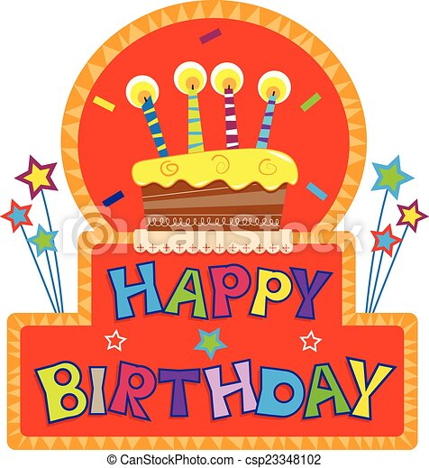Astonishing Happy Birthday Sign Birthday Cake With Candles On Top Of A Personalised Birthday Cards Veneteletsinfo