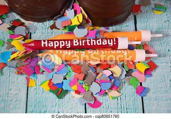 Happy Birthday - csp80651760