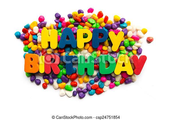 happy birthday - csp24751854