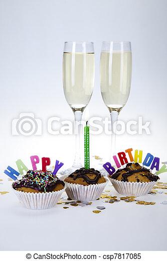 Happy birthday - csp7817085