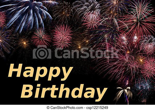 Happy Birthday - csp12215249