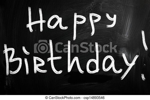 HAPPY BIRTHDAY - csp14893546