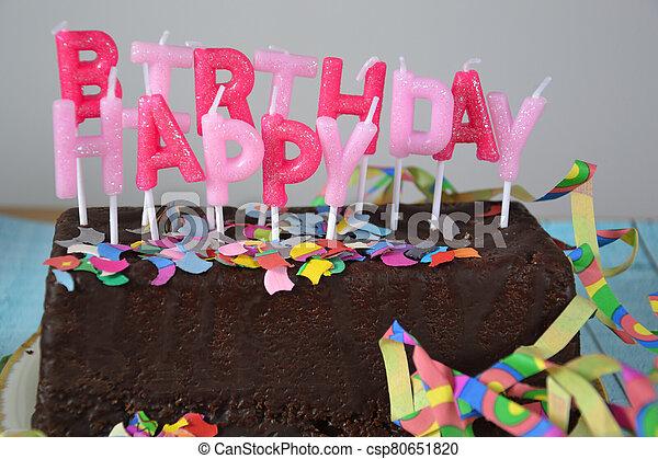 Happy Birthday - csp80651820