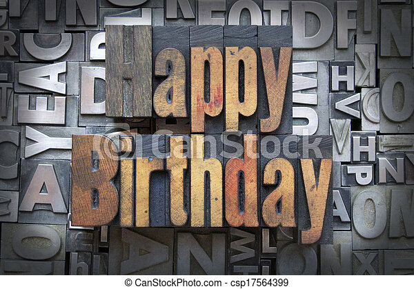 Happy Birthday - csp17564399