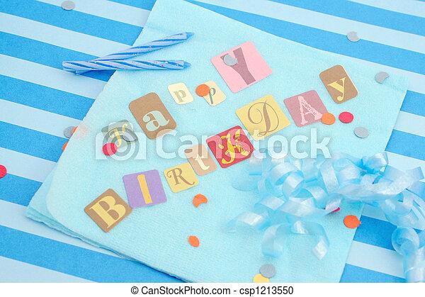 happy birthday - csp1213550