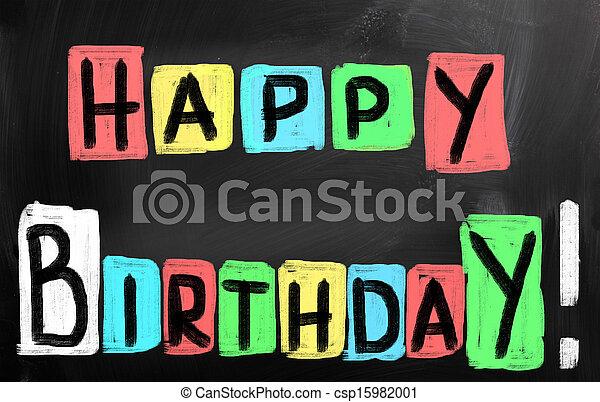 HAPPY BIRTHDAY! - csp15982001